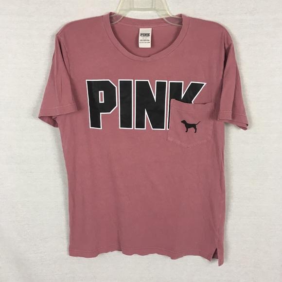 aab2822e562ba Pink Victoria's Secret t shirt small dog pocket